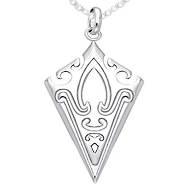 Norse Mammen Viking Arrowhead Pendant Necklace1