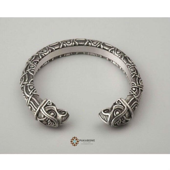 Metal Viking Arm Ring Odins Ravens by Pakabone